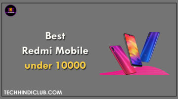 Best Redmi Mobile under 10000