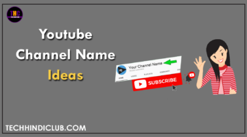 Youtube Channel Names Ideas