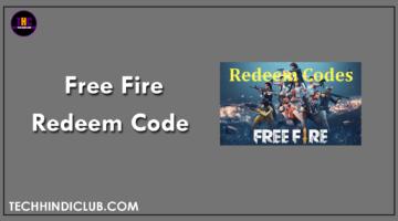 Free Fire Redeem Code Kya Hai