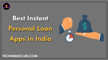 Instant Personal Loan Apps in India
